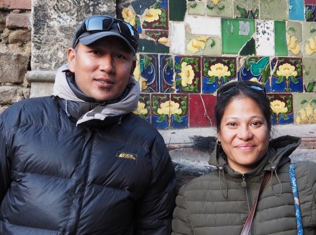 Uttara Manandhar und Sampanna Sthapit von Dautari Nepal